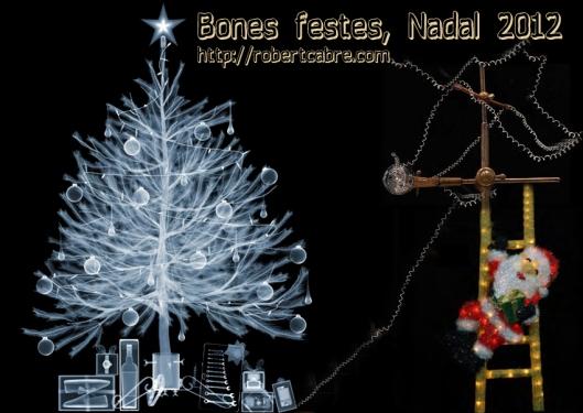 Felicitación navidad  2012 Radiografia
