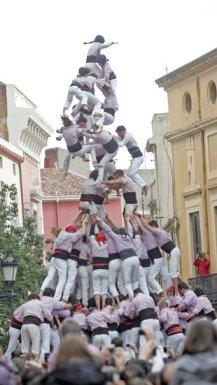 Barcelona. Diada cas