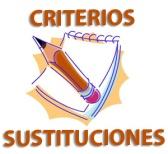 CriteriosSustitucion